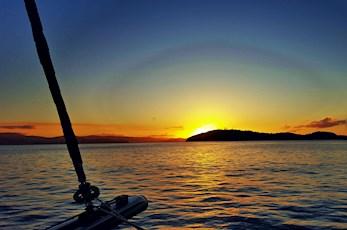 Catamaran cruise around the Great Barrier Reef - honeymoon packages Hamilton Island