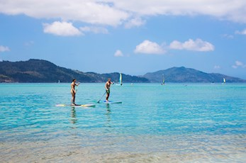 Honeymoon packages - Hamilton Island stand up paddle board hire