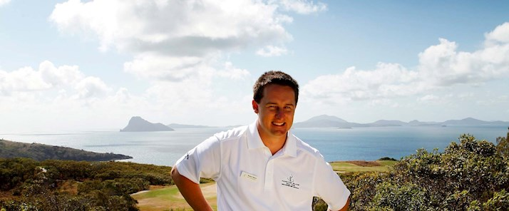 Rob Blain - Golf Pro Player enjoying his golf holiday on Hamilton Island