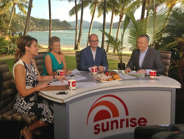 Sunrise LIVE from Hamilton Island