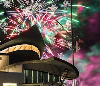Andrea francolini fireworks at Hamilton Island