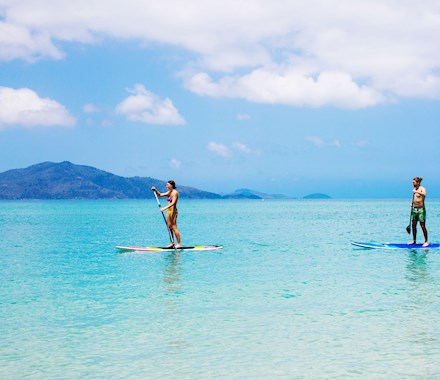 catseye beach paddle boarding