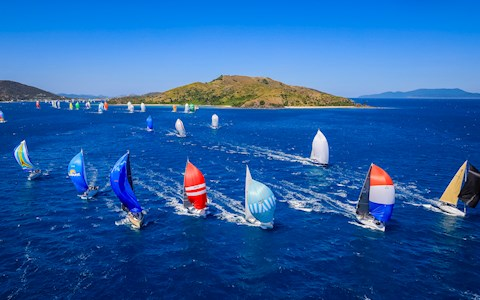 Hamilton Island Race Week   Australia's Largest Offshore