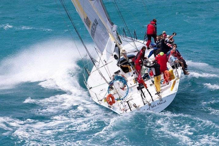Spirit of the Maid at Hamilton Island Race Week