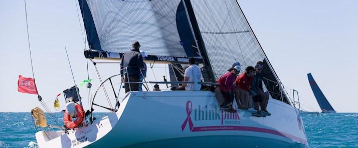 Think Pink on Hamilton Island Race Week