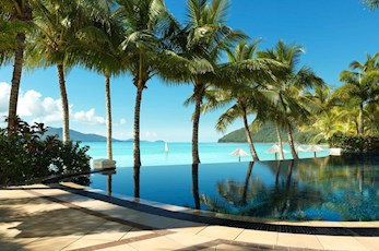 Beach Club swimming pool - Hamilton Island luxury accommodation