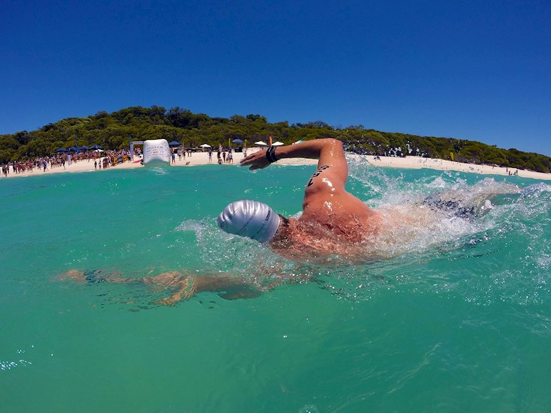 Ocean Swim Hamilton Island Triathlon