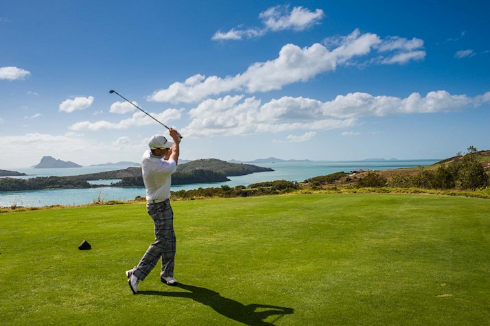 Watch the PGA Golf on Hamilton Island