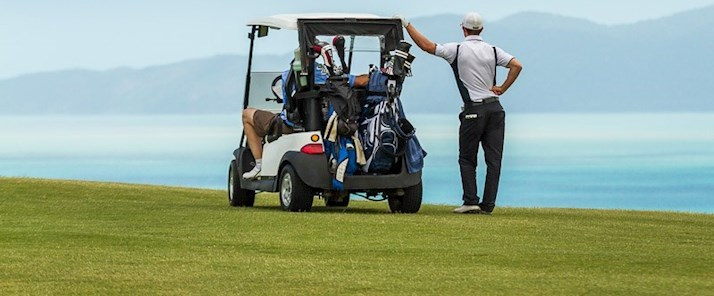 Golf overlooking the Whitsundays - Hamilton Island  holidays