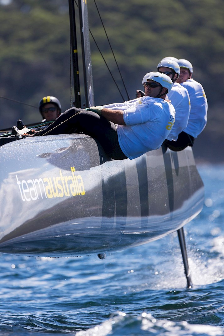 Hamilton Island - Team Australia Training on Sydney Harbour