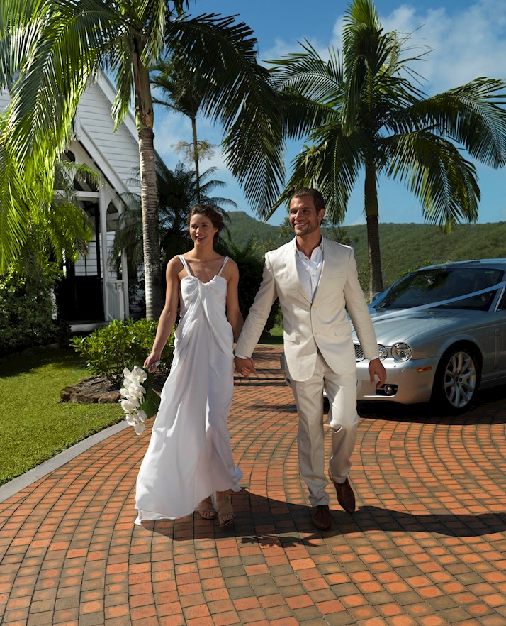 Hold your ceremony in the All Saints Chapel on Hamilton Island