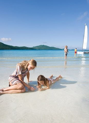Hamilton Island family holiday - mother and daughter activities