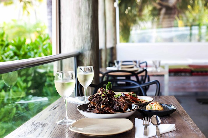Relax at Coca Chu restaurant with a South East Asian meal - Hamilton Island resort