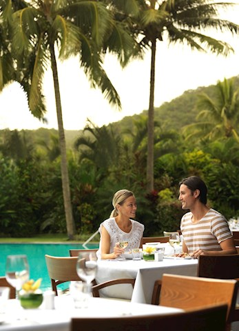 Enjoy a casual meal on the pool terrace - Hamilton Island deal