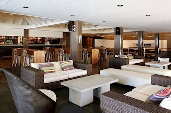 Interior of the Verandah Bar - resorts Hamilton Island
