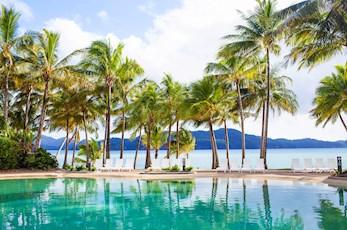 Bougainvillea Pool - near the Hamilton Island Reef View Hotel