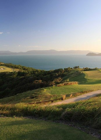 Watch the sunset over the Hamilton Island Golf Club  - Dent Island