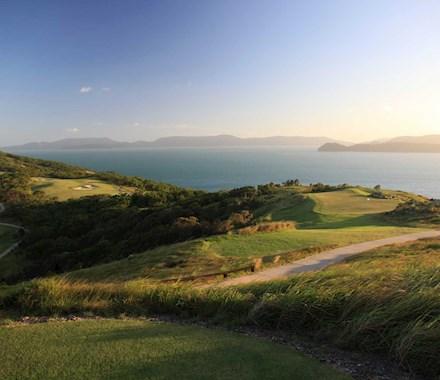 Watch the sunset over the Hamilton Island Golf Club  - Dent Island