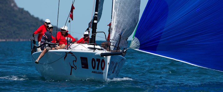 Audi Hamilton Island Race Week 2014 Panther 200th enrty credit Andrea Franco