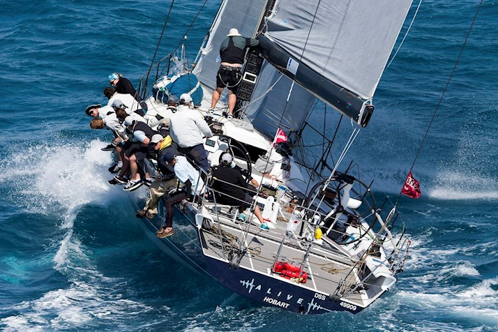 Audi Hamilton Island Race Week - watch the yachts over the rough water