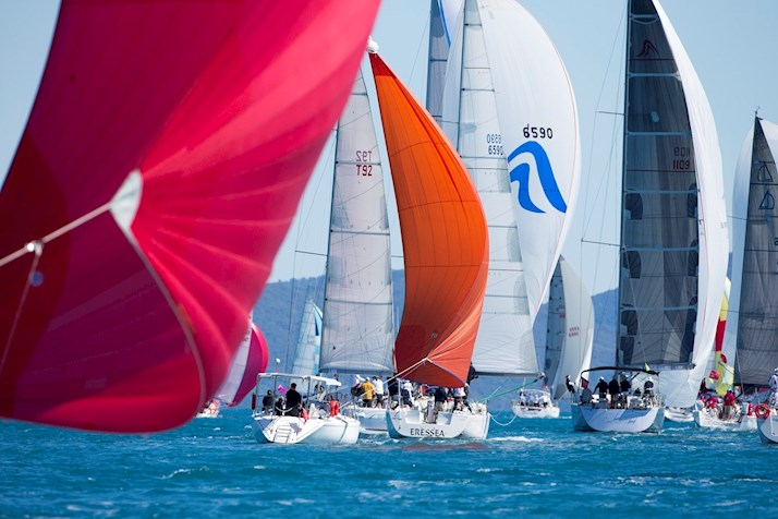 See the start of the race from Dent Passage - Audi Hamilton Island Race Week