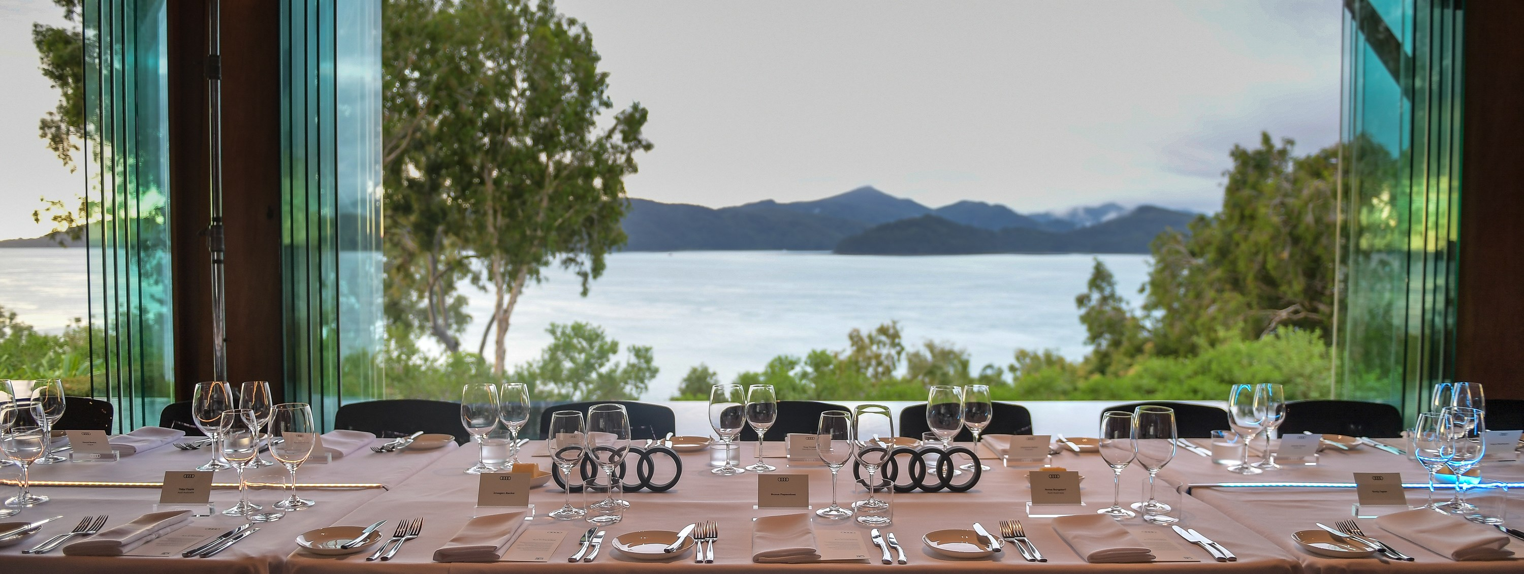 Dinner at qualia - Audi Hamilton Island Race Week 2016