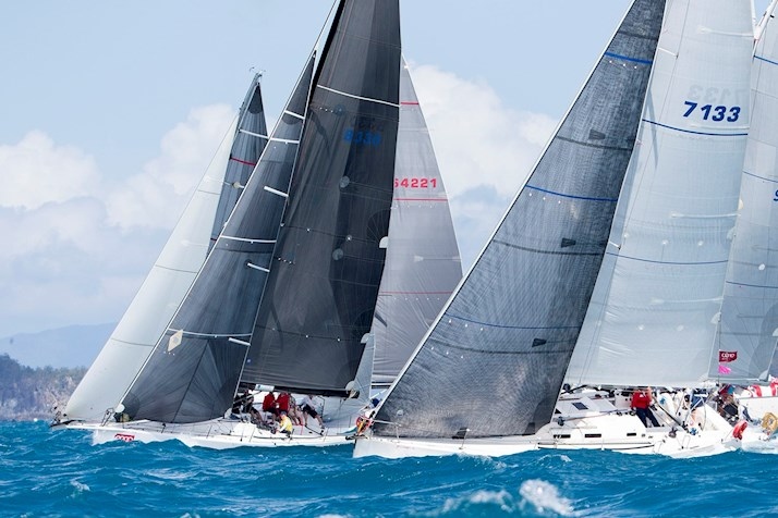 Enjoy the tight competition of the yachts - Audi Hamilton Island Race Week