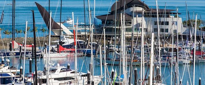 Boats at the Hamilton Island Marina - luxury hotels Hamilton Island
