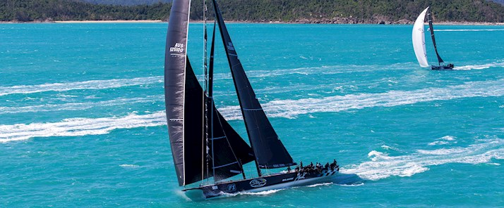 Peter Harburg's Black Jake at Audi Hamilton Island Race Week