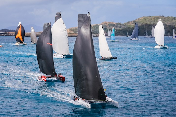 See the yacht sails at Audi Hamilton Island Race Week - Hamilton Island deals