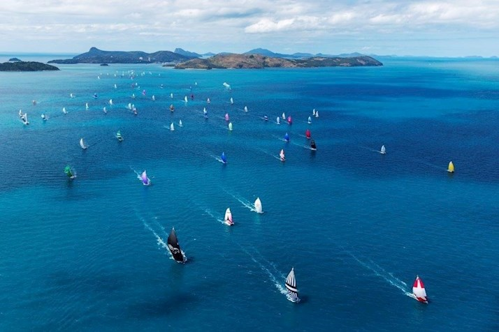 Yachts race the Whitsundays - Audi Hamilton Island Race Week - Hamilton Island resorts