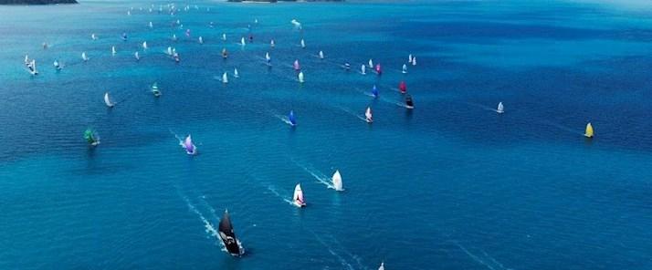 Yachts race the Whitsundays - Audi Hamilton Island Race Week - Hamilton Island resorts