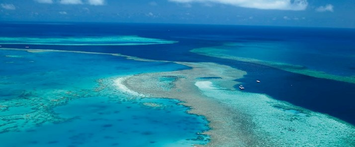 Explore the Great Barrier Reef by air - Hamilton Island family holidays