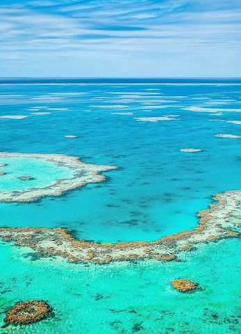 Hamilton Island luxury holidays - explore the Great Barrier Reef and Reef by air